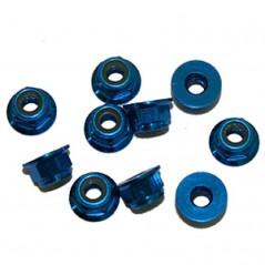 Ultimate Porcas Autorroscante Flange M4 Alúminio Azul (10pcs)