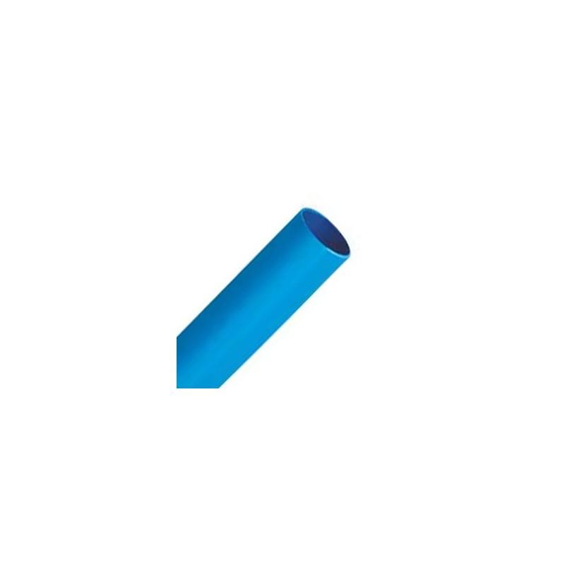Muldental Manga Termoretrátil Azul 4.8mm (1m)