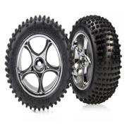 Traxxas Tracer 2.2 Chrome Wheels Bandit