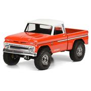 Proline 1966 Chevrolet C-10 Clear Body (Cab+Bed) SCX10 313