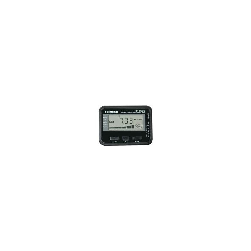 Futaba Medidor de Baterias BR3000