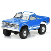 Proline 1977 Dodge Ramcharger Clear Body for 313mm Crawler