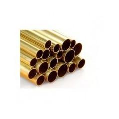 Tubo de latão 9,1/10,0mm x 1000mm